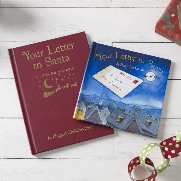 Your Letter to Santa Personalised Christmas Book