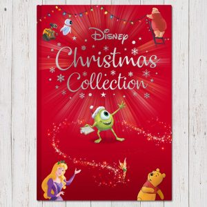 Disney collection personalised Christmas book