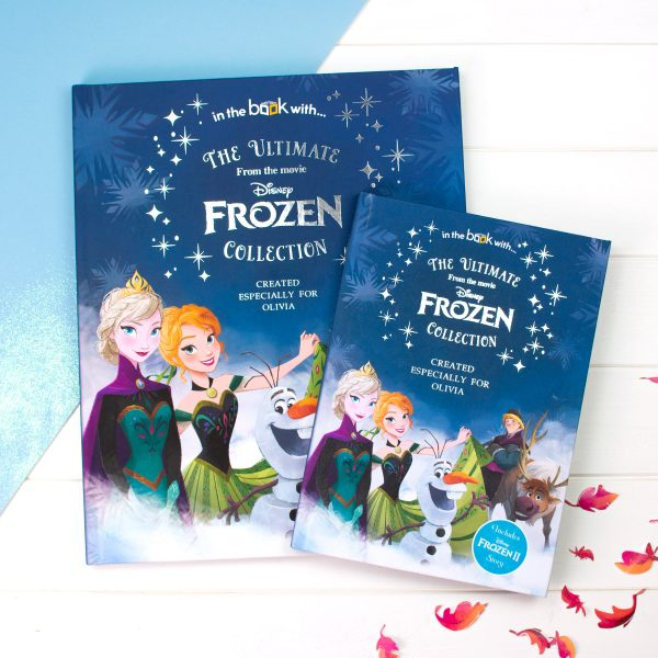 frozen story collection personalised frozen book