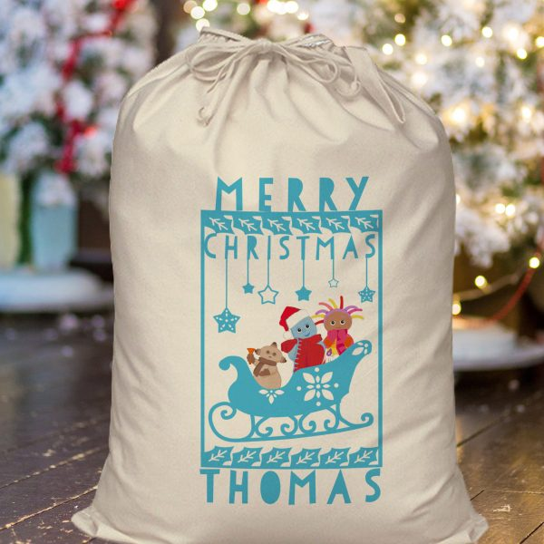 In the night garden showtime personalised christmas sack
