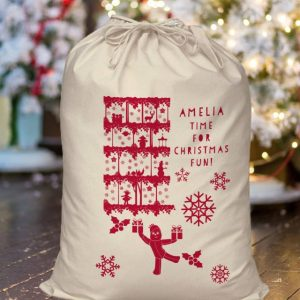 in the night garden personalised christmas sack