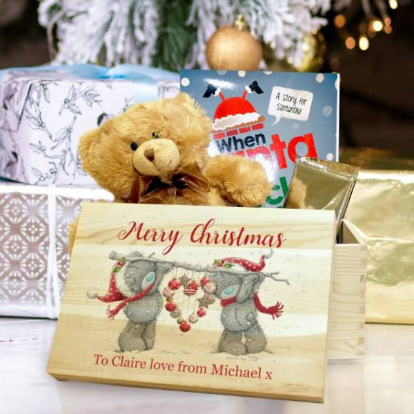 me to you heart memory personalised Christmas Eve box