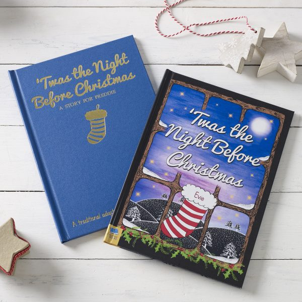 Twas the Night Before Christmas Personalised Christmas Book